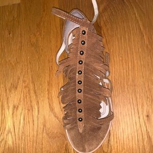 Zara Brown Sandals